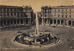 Italy Roma Rome Piazza dell' Esedra