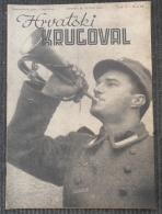 HRVATSKI KRUGOVAL, NDH BROJ  12 1942 - Other