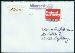 Biber Post Standardbrief 14.11.2012 Erstmal Zu Penny #303 - Private & Local Mails