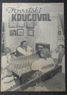 HRVATSKI KRUGOVAL, NDH BROJ  18 1942 - Other