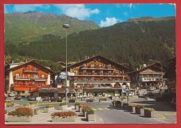 AVS-058 Verbier, Pli Vertical. Circulé, Cachet Haute-Nendaz 1990 - VS Wallis