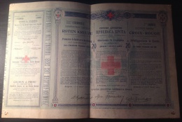 Obligation - 20 Dinara In Gold - Serbia - Invoices & Commercial Documents