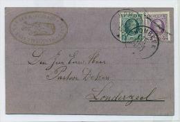 (J278) Carte Au Curé De Londerzeel Pour Un Mariage A Leest De V.Slachmuylders Et Cath. Vanden Heuvel 1927 - Londerzeel