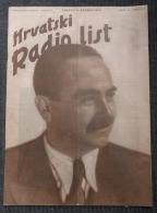 HRVATSKI RADIO LIST, NDH BROJ 3 1941 MILE BUDAK - Other