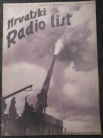 HRVATSKI RADIO LIST, NDH BROJ 4  1941 - Other