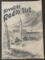 HRVATSKI RADIO LIST, NDH BROJ 6  1941 - Otros