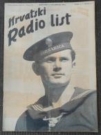 HRVATSKI RADIO LIST, NDH BROJ 7  1941  NDH MORNAR - Other