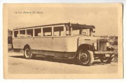 E1839  -  HEYST  -  Casino Tours - Excursions - Osc. BUYLAERT, Digue De Mer - Car MINERVA  *autobus*coach* - Heist