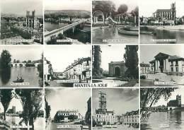 CPM - 78 - MANTES-LA-JOLIE (Multivues)  (Ed. Gaby) - Mantes La Jolie