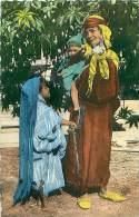 Femme Bédouine Et Ses Enfants (CAP. LL.6092) - Algérie