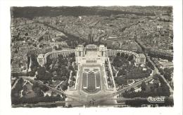 Cp, 75, Paris, Vue Panoramique Vers Le Palais De Chaillot, écrite - Francia