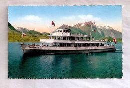 "CPSM - Spiez (Suisse) - Thunersee. Motorschiff  ""Jungfrau"" - Altri"
