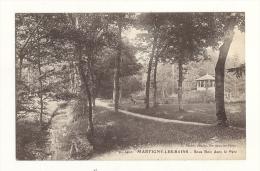 Cp, 88, Martigny-les-Bains, Sous-Bois Dans Le Parc - France
