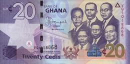 GHANA - REPUBLIC OF GHANA - GH¢20. Banknote  Issued 6th March, 2013 - Ghana