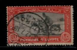 EGYPT / 1929 / EXPRESS / MOTOR-CYCLE / MOTO / MOTOCICLETA / MOTORCYKEL / VF USED - Egypt