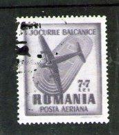 1948 -  JEUX BALKANIQUE Yv No 45 - Gebraucht