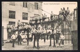 Ecole Polytechnique . La Cour De Gymnastique . - Schools