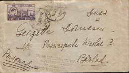 Romania- Letter , Circulated To Barlad In 1947 With A Special Stamp Advertising - Covers & Documents