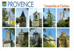 Clochers Et Campaniles De Provence N°C 288 éditions Guy Borens Bandol En 2004 - Provence-Alpes-Côte D'Azur