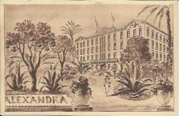 CPA De NICE - HOTEL ALEXANDRA. - Nice