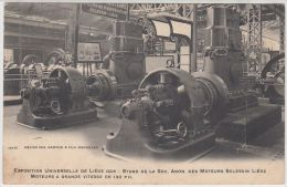 19429g MOTEURS SCLESSIN - GRANDE VITESSE 130 PH - Exposition Universelle De Liège 1905 - Luik