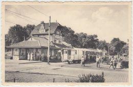 19439g TRAM - GARE - STATIE - PASSAGE à NIVEAU - Coq-sur-Mer - De Haan