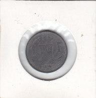 1 FRANC Zinc Léopold III 1945 FL/FR - 04. 1 Franc