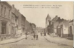 Courrières: Rue De L'Eglise - France