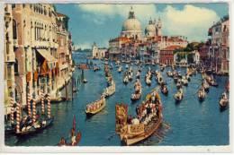 VENEZIA - Canal Grande E Regata Storcia, Regatta, Règate SHIP - Bateaux