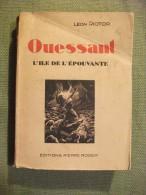 Ouessant L' île De L'épouvante Riotor 1931 Bretagne Photos Carte - Bretagne