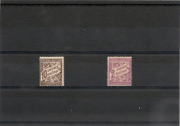 ANDORRE  Années 1938/41 TAXE N° Y/T :18*-19* Côte: 18,00 €