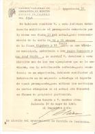Papel Del Cuerpo Nacional De Ingenieros De Montes  1940 - España