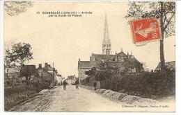 44 - GUENROUET (Loire-Inf.) - Arrivée Par La Route De Plessé - Coll. F. Chapeau N° 10 - 1914 - Guenrouet