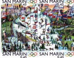 2006 San Marino - Olimpiadi Invernali Di Torino - San Marino