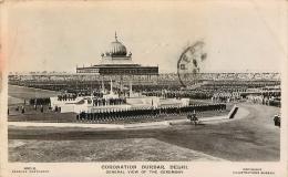DELHI CORONATION DURBAR GENERAL VIEW OF THE CEREMONY - Inde