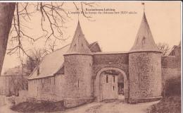 ECAUSSINNES - LALAING : L'entrée De La Ferme Du Château-fort - Ecaussinnes