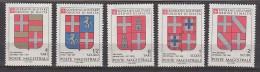 PGL BT046 - SMOM ORDRE DE MALTE SASSONE N°175/79 ** - Sovrano Militare Ordine Di Malta
