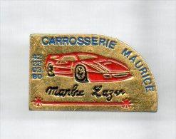PINS PIN'S AUTO FERRARI CHEVAL CABRE AUTOMOBILE F1 2,3 CMS MARBRE LAZER CARROSSERIE MAURICE  METAL - Ferrari