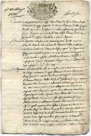 3 Cachets Généralité  De Gêne ( Italie - Piemont )  Ville De  RIVALTA  - 12 Pages  - Année  1774 - Seals Of Generality