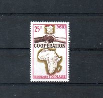 TOGO. N°424 De 1964 (neuf Sans Charnière : MNH). Coopération Avec La France. - Togo (1960-...)