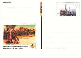 Germany Postcard International Stamps Exhibition Munchen, 2004 (Z-1051) - [7] Federal Republic