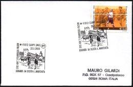 ATHLETICS / CYCLING / OLYMPIC GAMES 1908 - ITALIA CARPI 2008 - DORANDO PIETRI: DA CICLISTA A MARATONETA - SMALL COVER - Summer 1908: London