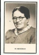 Doodsprentje - Joanna, Maria Schoofs - Rijkevorsel 1889 - Zondereigen 1955 - Religion & Esotericism