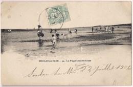 SOULAC-sur-MER - La Plage à Marée Basse [3476/S33] - Soulac-sur-Mer