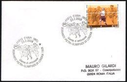 ATHLETICS / OLYMPIC GAMES - ITALIA CARPI 2008 - DORANDO PIETRI: OLIMPIADI DI LONDRA 1908 - FDC - Summer 1908: London