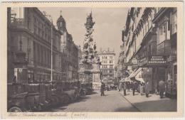 Wien: 10 VINTAGE OLDTIMER AUTO'S - Juwelen 'Klein' , 'Graben Restaurant' -  Graben Mit Pestsäule - Austria - Speelgoed & Spelen