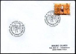 OLYMPIC GAMES 1908 / ATHLETICS - ITALIA ANCONA 2008 - DORANDO PIETRI - OLIMPIADI DI LONDRA 1908 - MOSTRA FILATELICA - Summer 1908: London
