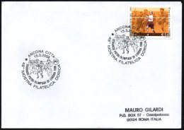OLYMPIC GAMES 1908 / ATHLETICS - ITALIA ANCONA 2008 - DORANDO PIETRI - OLIMPIADI DI LONDRA 1908 - MOSTRA FILATELICA
