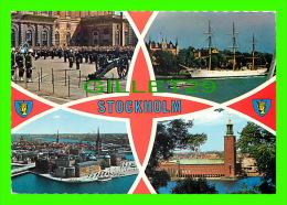 STOCKHOLM, SWEDEN - 4 MULTIVIEWS - TRAVEL IN 1986 - FARFOTO, GIOVANNI TRIMBOLI - - Suède