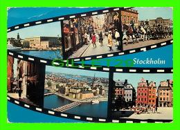 STOCKHOLM, SWEDEN - 6 MULTIVIEWS - TRAVEL IN 1972 - ULTRA - - Suède
